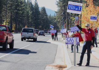 Measure T appears on its way to passing in South Lake Tahoe