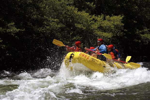 The South Fork of the American River offers world-class rafting just an hour away from Lake Tahoeís South Shore.