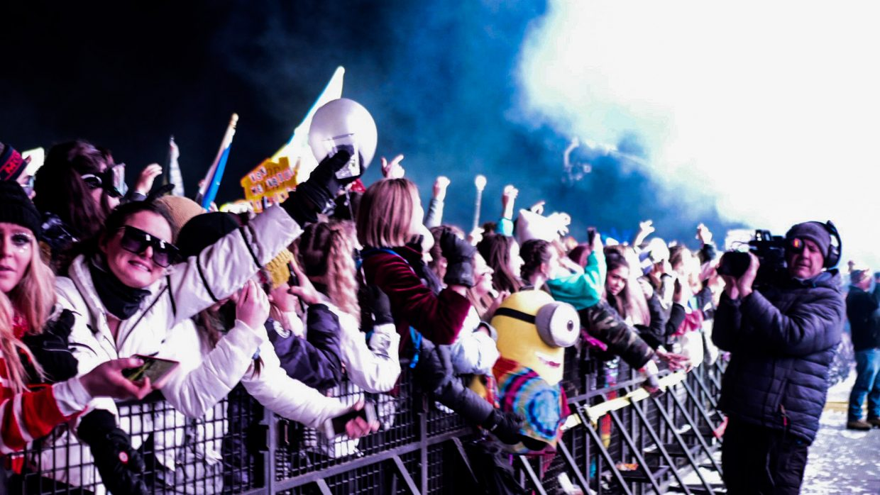 Day two of SnowGlobe 2018 wrapped up Sunday, Dec. 30.