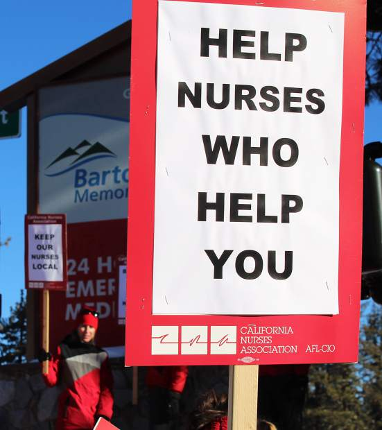 Health insurance is one of the primary unresolved factors amid negotiations between Barton Health and its unionized nurses.