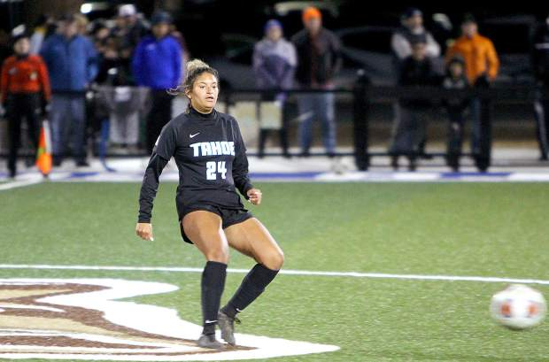 Madison Boyd, of Las Vegas, earned first team All-American this season for Lake Tahoe Community College.
