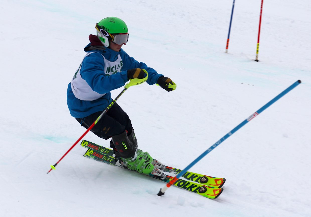 Incline's Otto Albrecht earned fifth place Wednesday, Jan. 9, at Heavenly Mountain Resort.