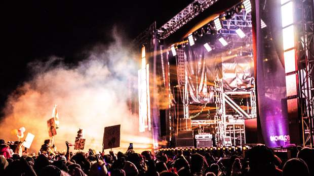 SnowGlobe Music Festival in 2019 at South Lake Tahoe.