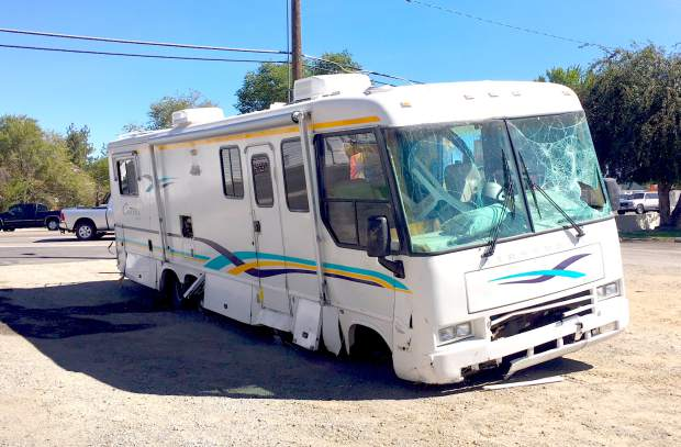 Warrant issued in motorhome eluding case that started at