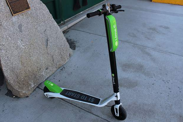 LimeBike is bringing electric scooters to South Lake Tahoe this spring as part of its dockless sharing program.