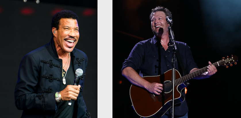 Blake Shelton, Lionel Richie latest shows added to 2019 Lake Tahoe Summer Concert Series lineup