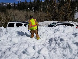 More snow slides force another temporary closure on US 50 near Echo Summit