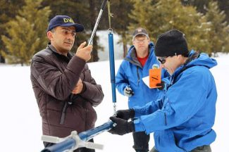 Snowpack measurements reveal 'water supply dream' in mountains surrounding Lake Tahoe