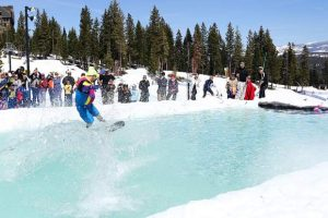 Send it: Lake Tahoe resorts blowing out season with pond skims, brews and more