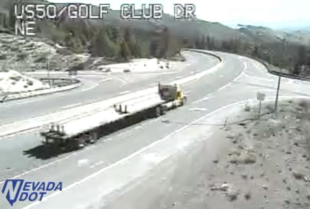 NDOT: Expect lane closures on US 50 between Carson City and Spooner Summit