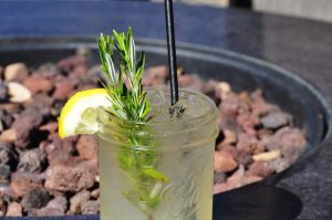 Lake Tahoe Drink of the Week: Beach Retreat Sidelines' Lavender Blue Lemonade