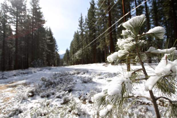 Lake Tahoe weather: Over ½ foot of snow possible at higher elevations by Thursday morning