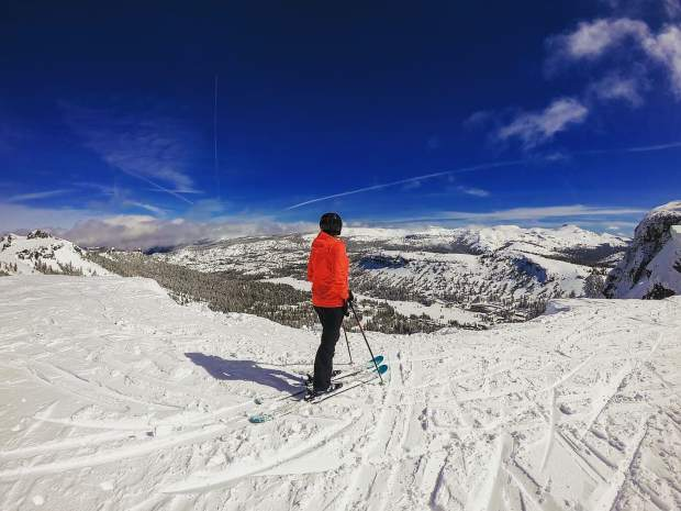 The end of an awesome #ski season. Gonna miss these views! But looking forward to #hiking #Sierra #peaks soon.