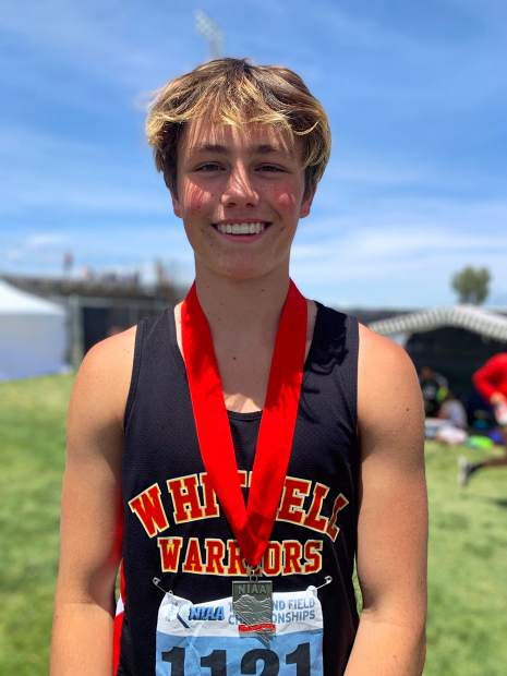 Whittell junior Dylan Wade finished second in the long jump with a personal best jump of 19 feet, 3.5 inches.