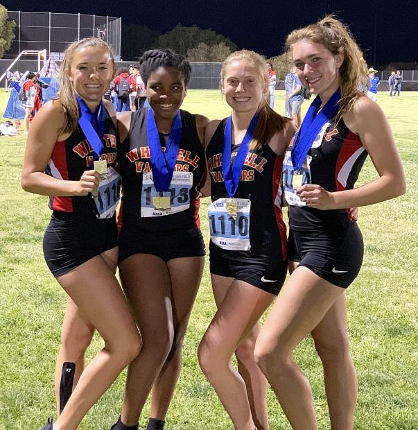 Rippett, Campbell lead Whittell trackers at state with 4 gold medals apiece