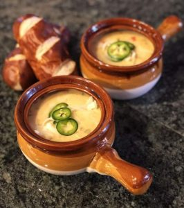 Yummy Fixins: Marlette Blonde beer cheese soup (recipe)