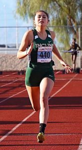 Student Athlete of the Month: Track star Millie Jenkins leaving mark at Incline High School