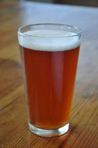 Lake Tahoe Drink of the Week: Sidellis Lake Tahoe's Kilmany Raspberry Farmhouse Ale