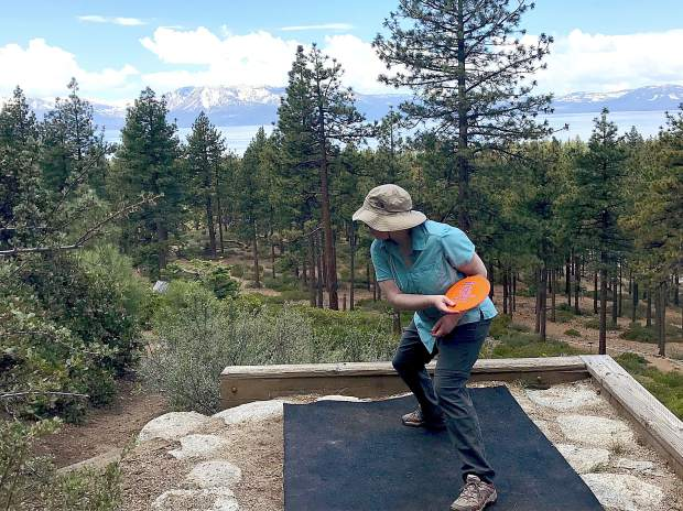 Disc golf at Lake Tahoe an affordable option while waiting to hike, swim