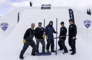 Diamond Peak terrain park crew recognized as one of industry's best