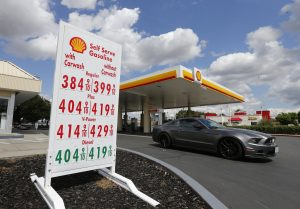 California gas tax rises another 6 cents a gallon