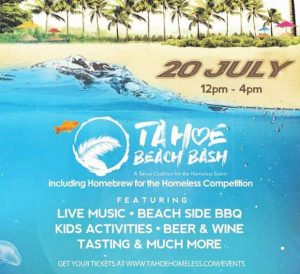 Tahoe Beach Bash benefits Tahoe Coalition for the Homeless