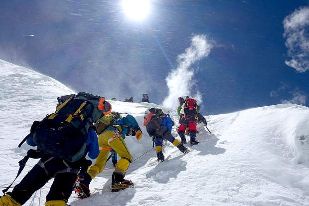 South Lake Tahoe's Robin Desota ascend Mount Everest with a group of people from all over the world.