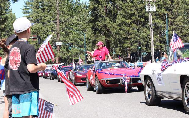 The annual Fourth of July parade rolls through South Lake Tahoe.