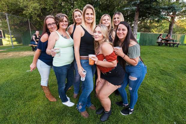 Fans waiting for Miranda Lambert to take the stage with special guest Randy Houser at the Harveys Lake Tahoe outdoor concert venue on Thursday, July 18.