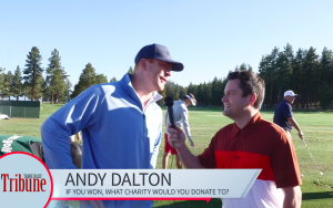 VIDEO: 3 questions with celebrities golfing at Lake Tahoe