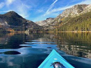 Whether aboard a kayak or paddleboard, these are 3 must-do trips on Lake Tahoe