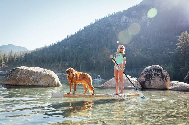Turner and Marley have gained a large Instagram following for their beautiful photos taken while out paddling.