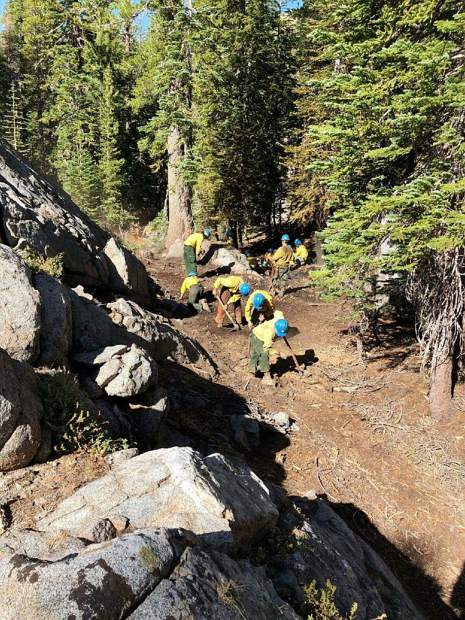 Crews from the Lake Tahoe Basin Management Unit were called out to a pair of small wildfires last Sunday, Aug. 25.