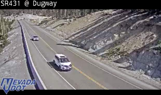Improvements to limit travel on Mt Rose Highway to 1 lane