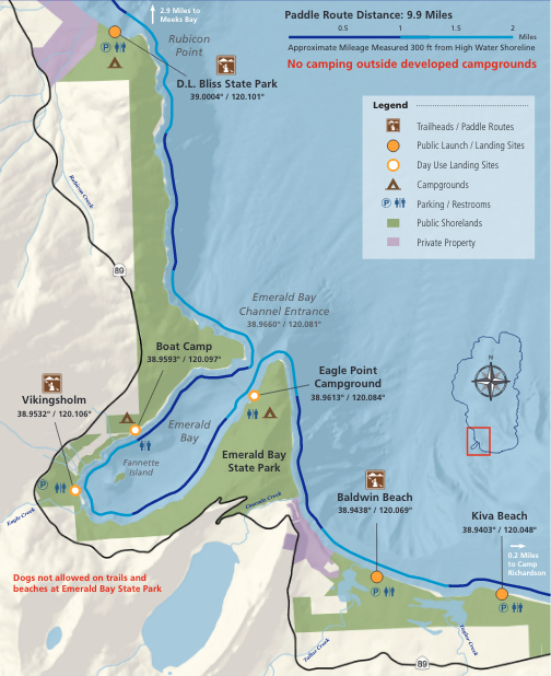 Sierra Business Council releases Lake Tahoe water trail map ...