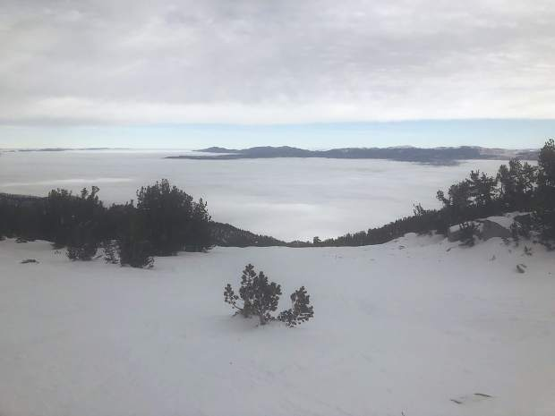 A view from Heavenly Mountain Resort.
