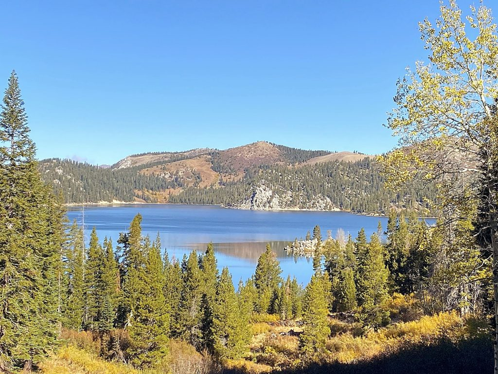 Marlette Lake from the Spooner Lake approach.