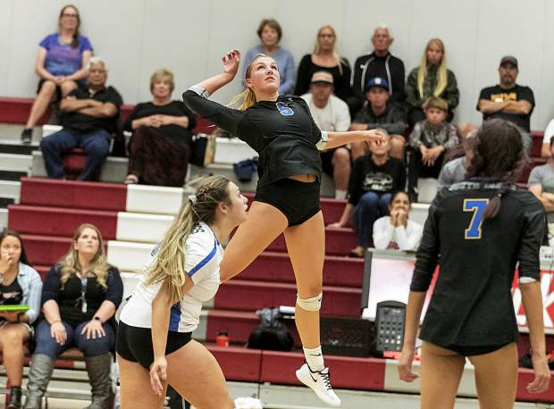 South Tahoe's Jerra McLaughlin goes on the attack.