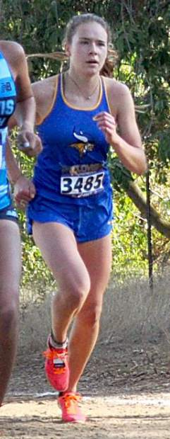 Carissa Buchholz competes earlier this year.