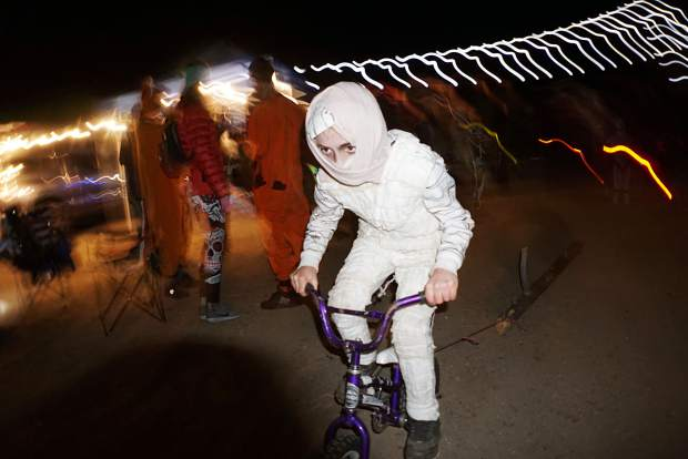 The Corral Night Ride is an all ages event.