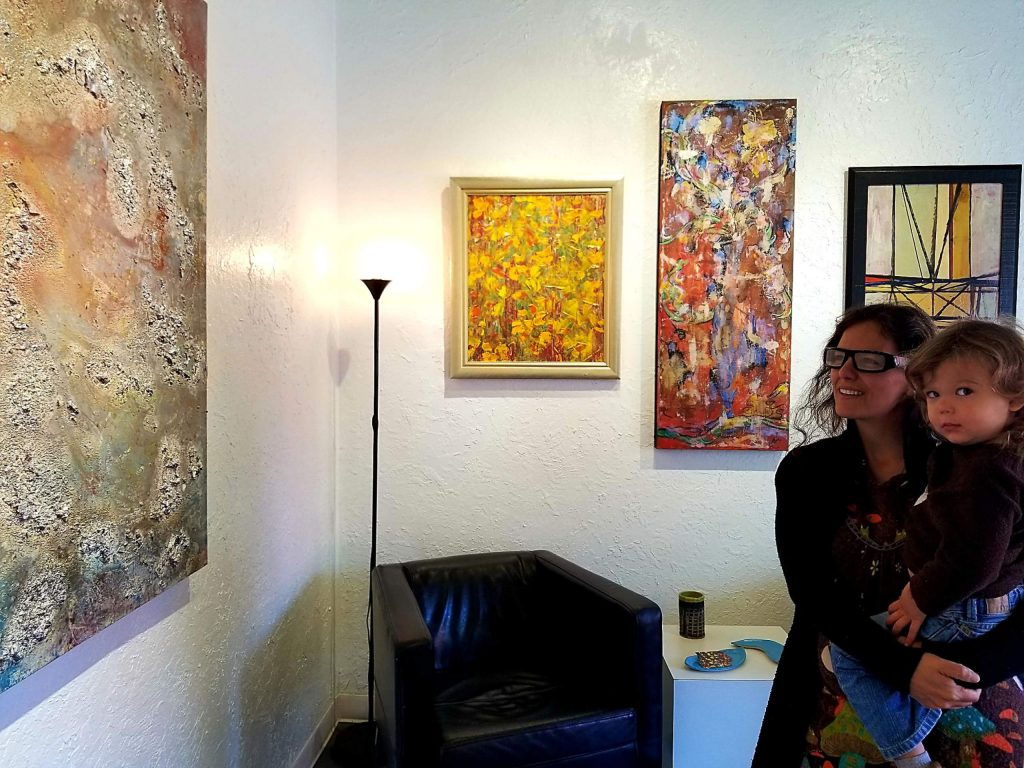Each venue will showcase work during the Tahoe Art Walk.