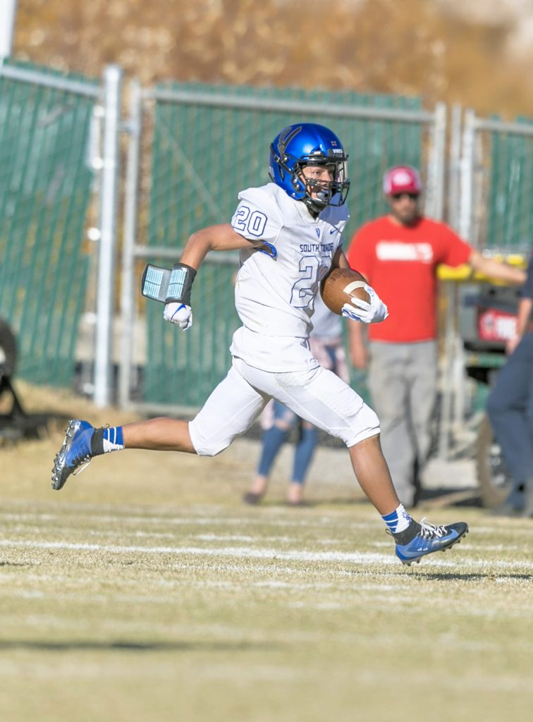 South Tahoe freshman receiver Joel Gomez had a monster day against Truckee.