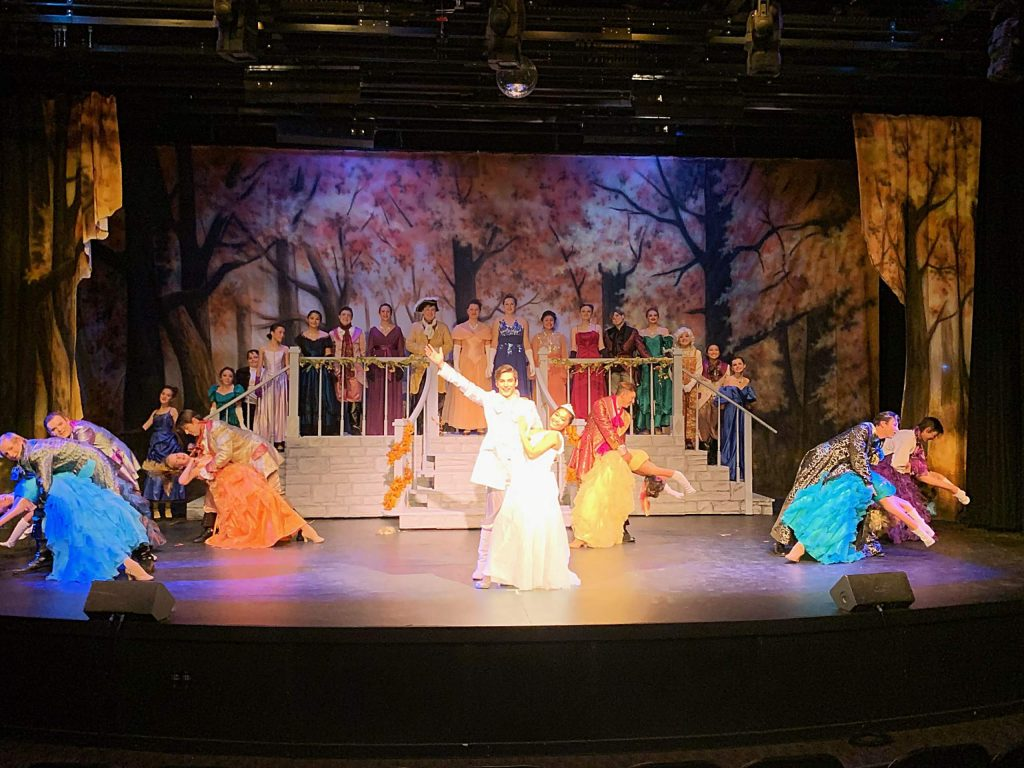 South Lake Tahoe High School students perform Cinderella this week.