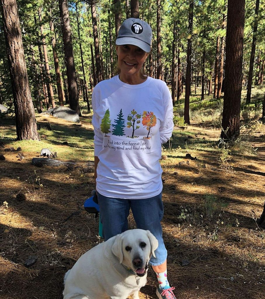 And into the forest I go...Back with my sweetheart, my loyal Revi, on one of our favorite trails and rewarding ourselves with delectable goodies at our favorite coffee shop. Does it get any better? #tahoesnaps #revi #wherewillyougo #liveusana