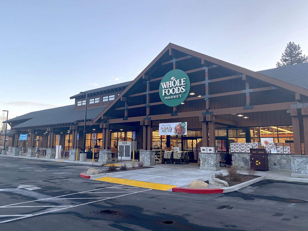 Whole Foods Market on Wednesday morning a couple of hours before opening.