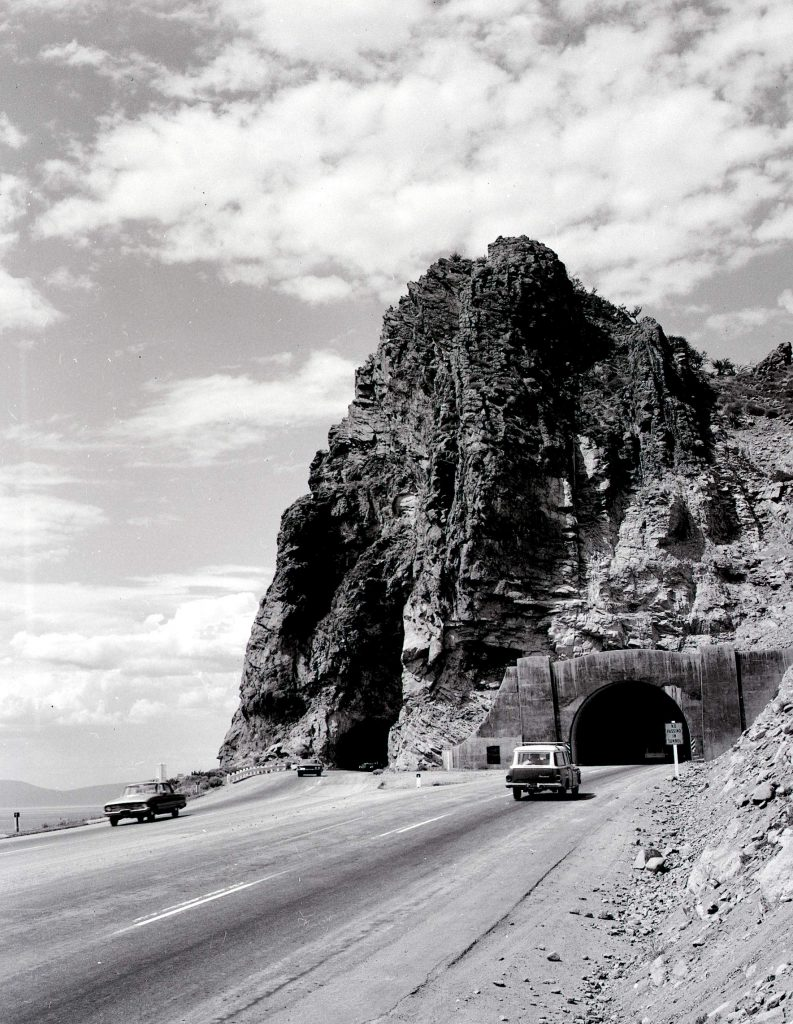 The second tunnel was constructed in 1957.