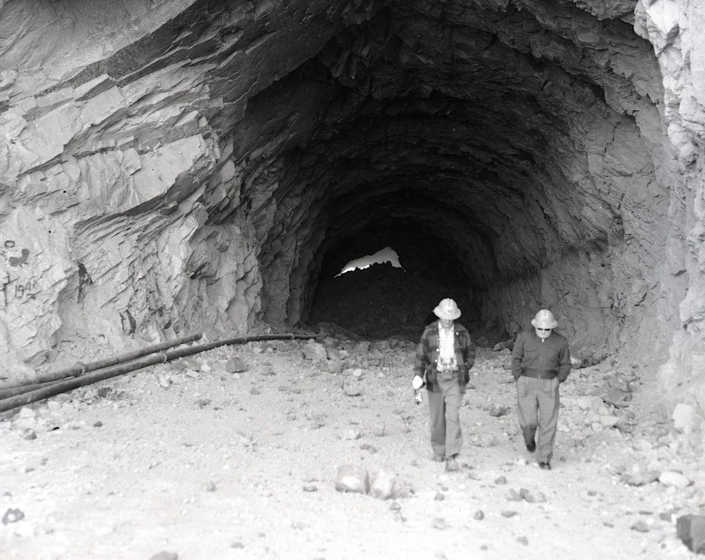The boring of the tunnels through Cave Rock came as a shock to the Washoe Tribe, who consider the formation a sacred place.