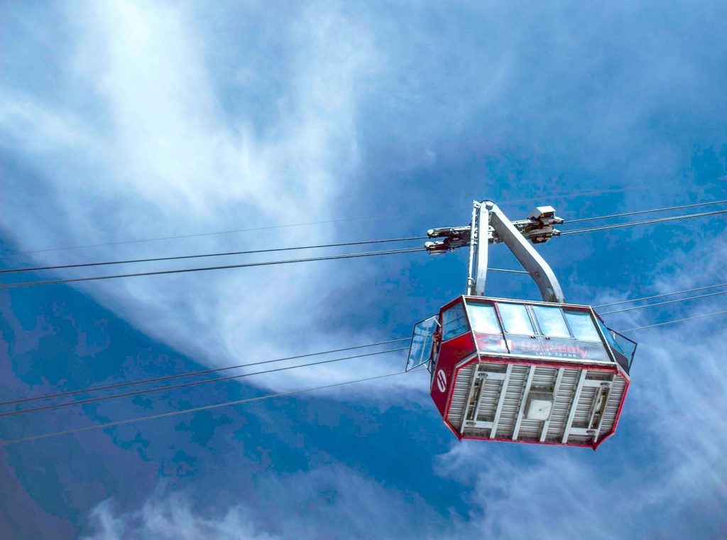 The Heavenly Aerial Tramway will be carrying skiers and riders Wednesday.