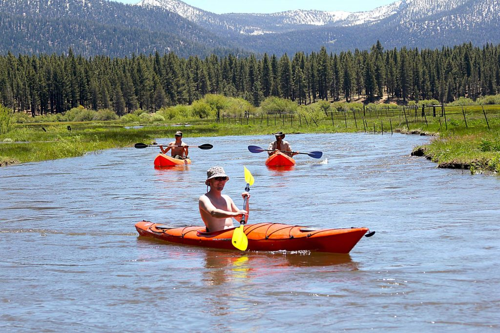Massive snowmelt from a historic winter provided a long float, rafting season.