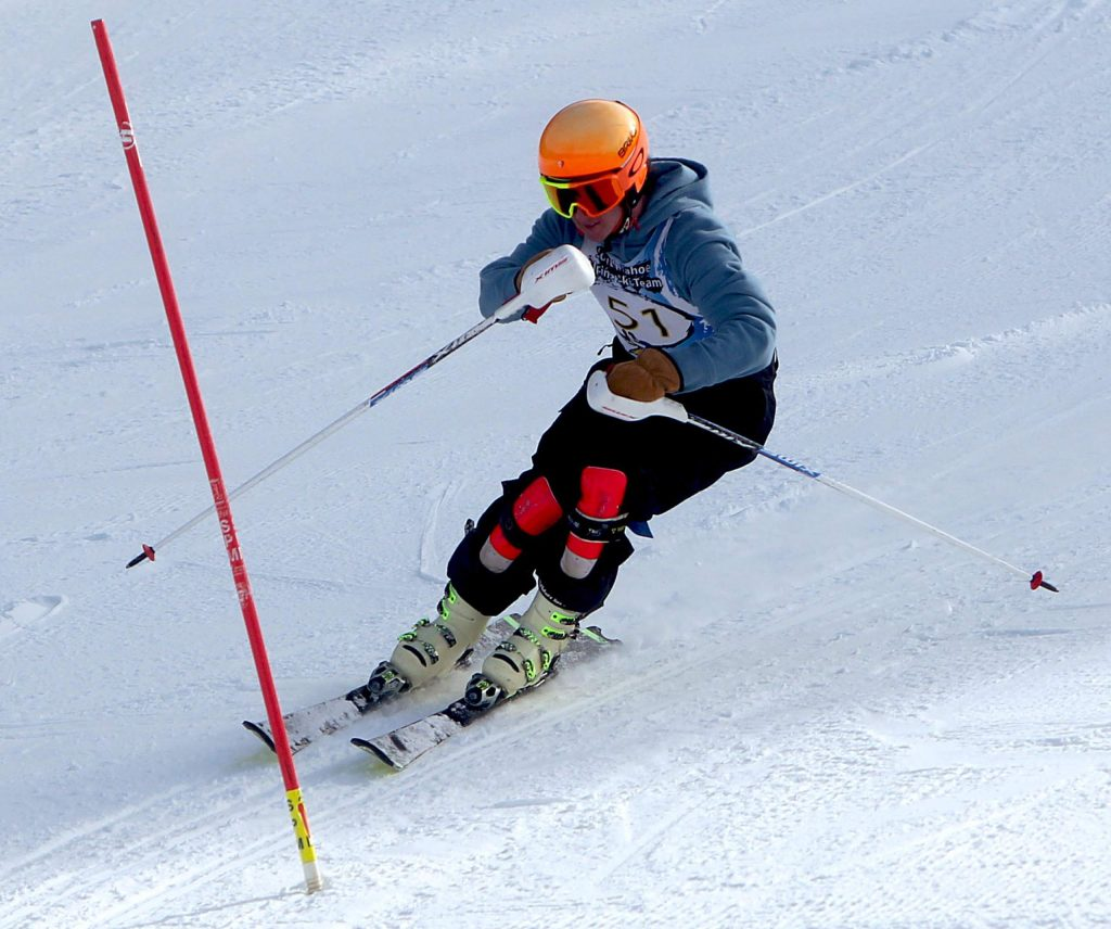 Mark Allen was South Tahoe's fastest skier Wednesday at Heavenly. He finished seventh overall.